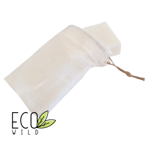 Muslin Soap Saver Bag by EcoWild